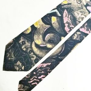 Vintage 1990s Abstract Tie Etienne Aigner